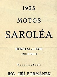 Sarolea  motocykly, motos, motorcycles